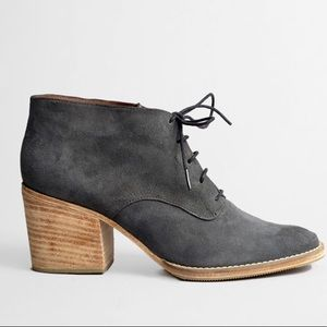 Rachel Comey Suede Lace Up Heeled